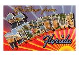 Greetings from St Petersburg  Florida