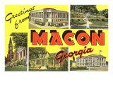 Greetings from Macon  Georgia