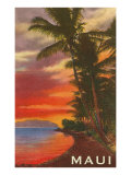 Sunset  Maui  Hawaii