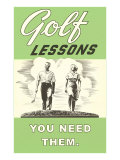Golf Lessons  You Need Them