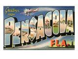 Greetings from Pensacola  Florida
