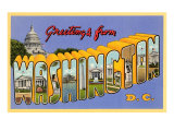Greetings from Washington  DC