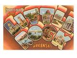 Greetings from Little Rock  Arkansas