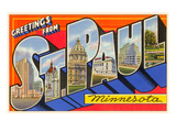 Greetings from St Paul  Minnesota
