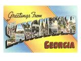Greetings from Savannah  Georgia