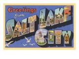 Greetings from Salt Lake City  Utah