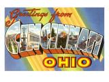 Greetings from Cincinnati  Ohio