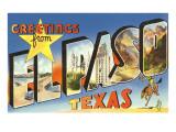 Greetings from El Paso  Texas