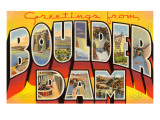 Greetings from Boulder Dam  Nevada