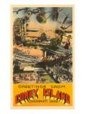 Greetings from Coney Island  Cincinnati  Ohio
