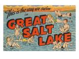 Greetings from Great Salt Lake  Utah