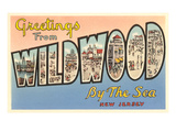 Greetings from Wildwood-by-the-Sea  New Jersey
