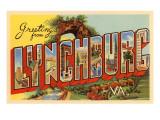 Greetings from Lynchburg  Virginia