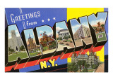 Greetings from Albany  New York