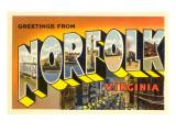 Greetings from Norfolk  Virginia