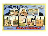 Greetings from San Diego  California