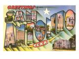 Greetings from San Antonio  Texas