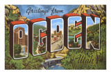 Greetings from Ogden  Utah