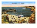 Beach  Cove  La Jolla  California