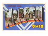 Greetings from Warren  Ohio