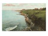 Cliff Walk  Breakers  Newport  Rhode Island