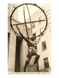 Atlas Statue  Rockefeller Center  New York City