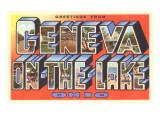 Greetings from Geneva-on-the-Lake  Ohio