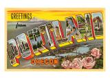 Greetings from Portland  Oregon