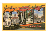 Greetings from Salem  Oregon
