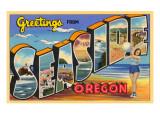 Greetings from Seaside  Oregon