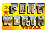 Greetings from Ft Worth  Texas