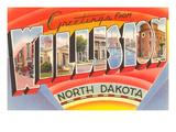 Greetings from Williston  North Dakota
