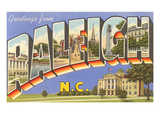 Greetings from Raleigh  North Carolina