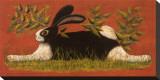 Red Folk Bunny