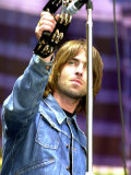 Liam Gallagher of Oasis Performing at the Reebok Stadium in Bolton  July 2000
