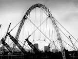 The Wembley Arch Reaches Its Highest Point  June 2004