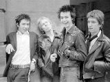 Sex Pistols Punk Rock Band in a London c1976