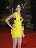 Amy Winehouse Arrives at the Brit Awards 2007
