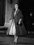 Ballerina Margot Fonteyn in the Dior Gown She Wore For Her Wedding 1955