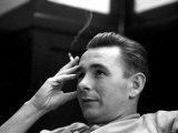 Derby Manager Brian Clough Ponders League Cup Morning After His Team's Success at Baseball Ground