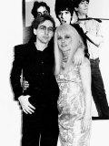 Debbie Harry Singer Leader of the Pop Group Blondie with Boyfriend Chris Stein
