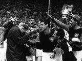 West Ham United Mob Their Manager Ron Greenwood After They Had Won the FA Cup in 1964 at Wembley