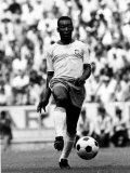 World Cup Group 3 Match in Guadalajara Mexico 7th June 1970 England 0 Vs Brazil 1  Brazil's Pele
