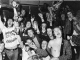 Scottish Football Fans Celebrate in a Frankfurt Bar at the 1974 World Cup