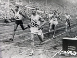 1948 Olympic Games the Finish of the 100 Meter Sprint at the London Olympic Games
