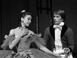 Rudolf Nureyev and Margot Fonteyn During Press Call For Royal Ballet