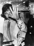 Mick Jagger Singer Songwriter the Rolling Stones After Being Arrested For Possession of Drugs