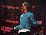 Liam Gallagher August 2000 Performing on Stage at the Gig on the Green at Glasgow Green