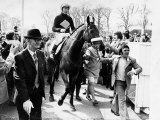 Red Rum Racehorse Jockey Brian Fletcher After Unique Aintree Ayr Grand National Double