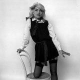 Debbie Harry Blondie Singer Dressed as a Schoolgirl 1978